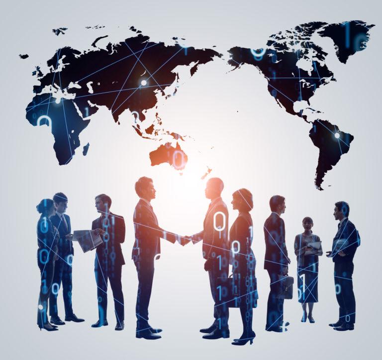 難問調査と言語の問題も解決 世界各国に協力者・協力会社があります。